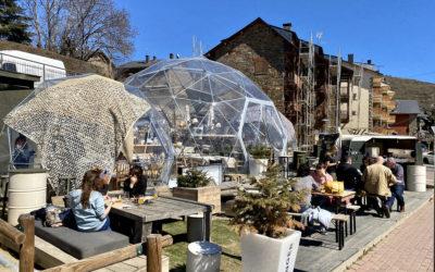 Dalia Dome diseña y construye el primer Space Dome en Llívia