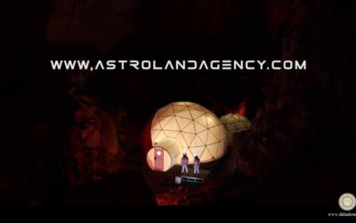 Astroland Agency. Bienvenido a la vida en Marte.