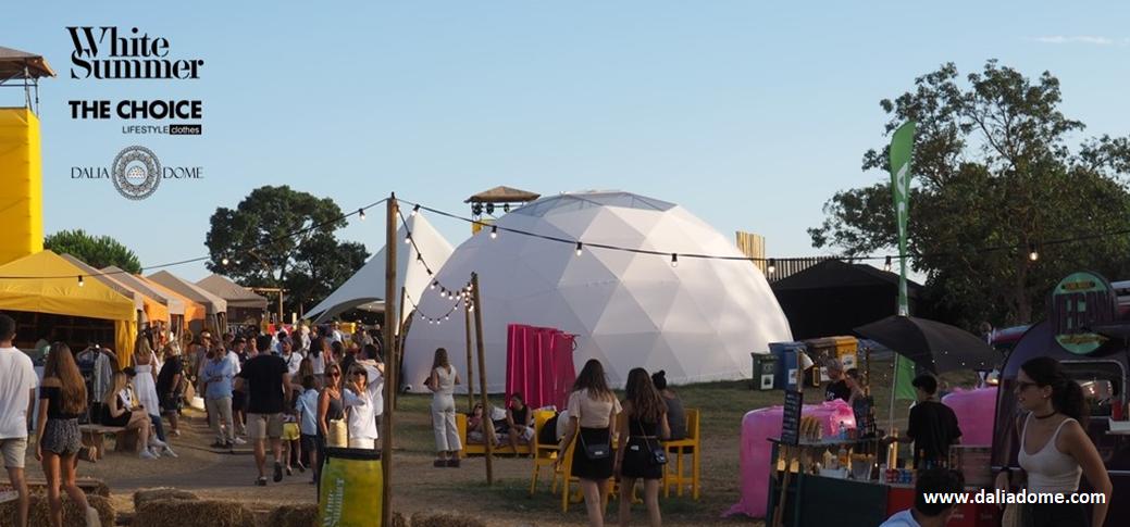 Dalia Dome - cúpula geodésica