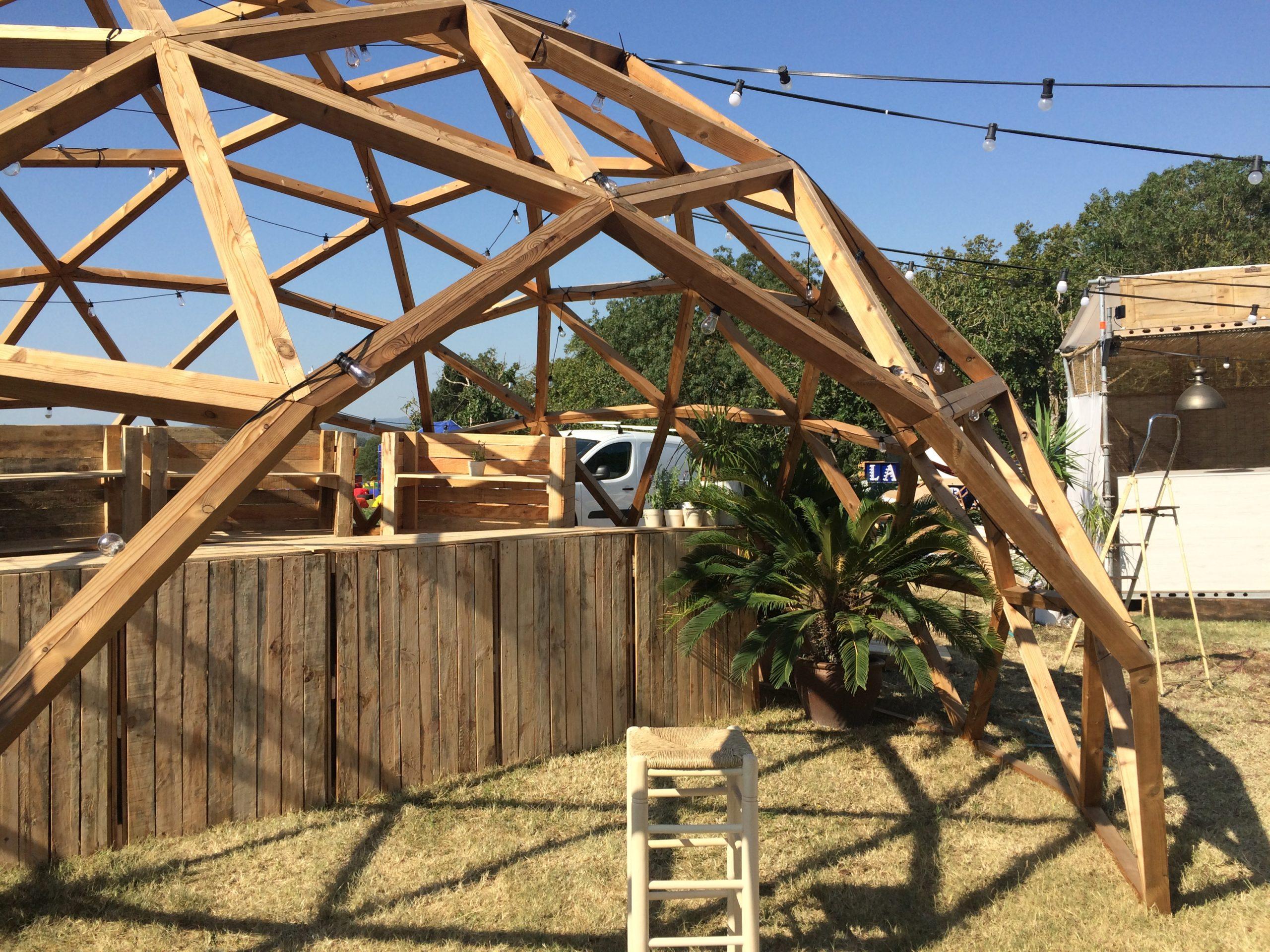 White Summer 2017 – Miri's Masterchef. Domo geodésico de madera
